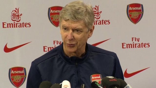 News video: Wenger is glad Arsenal have another chance to play Liverpool
